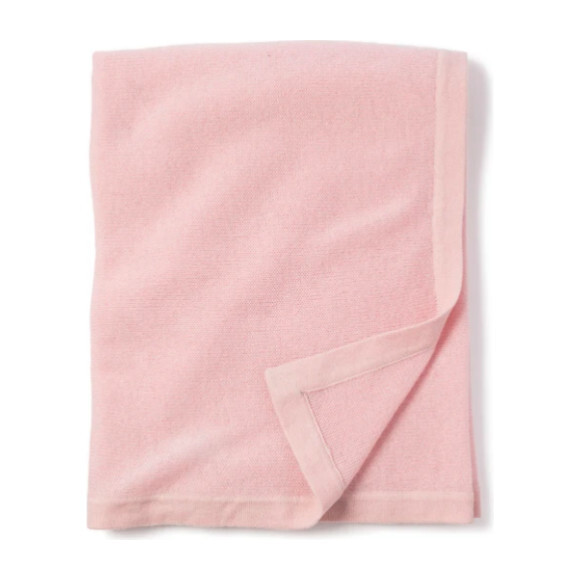 Cashmere Baby Blanket, Rose