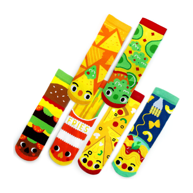 Taste Buds, Mismatched Socks 3 Pair Bundle