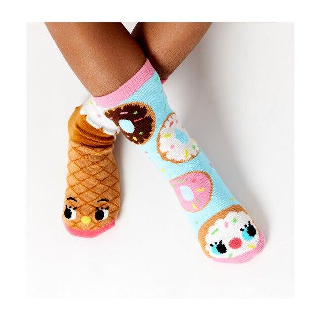 Taste Buds, Mismatched Toddler Socks 3 Pair Bundle