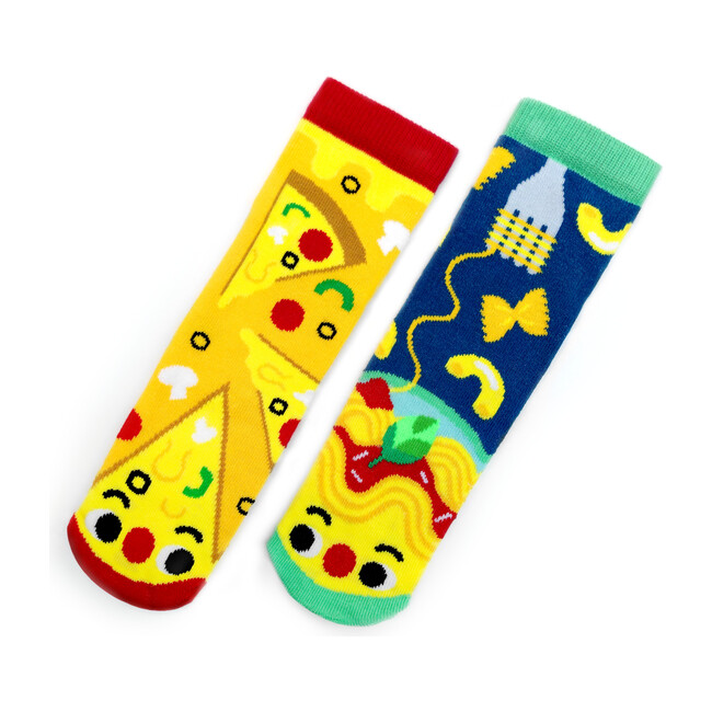 Pizza & Pasta, Mismatched Socks Set