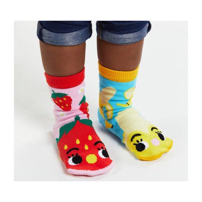 Strawberry & Banana, Mismatched Socks Set