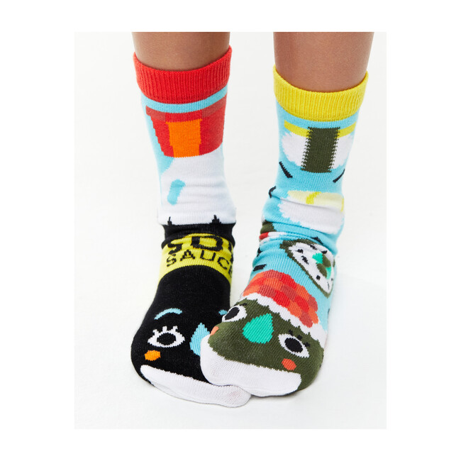 Sushi & Soy Sauce, Mismatched Socks Set