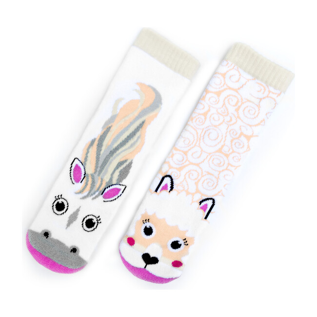 Horse & Alpaca, Mismatched Socks Set