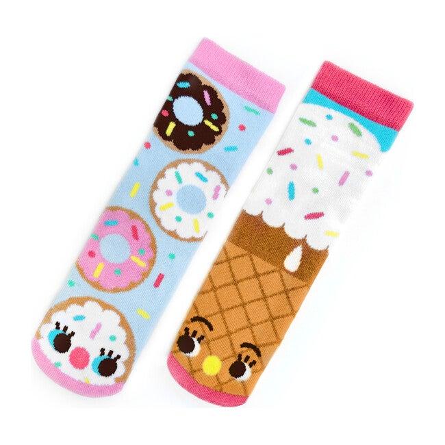 Donut & Ice Cream, Mismatched Socks Set
