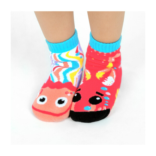 Crab & Jellyfish, Mismatched Socks Set