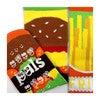 Burger & Fries, Mismatched Socks Set - Socks - 4