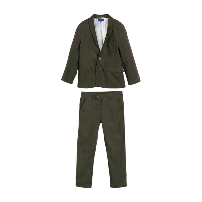Adam Cord Suit, Evergreen
