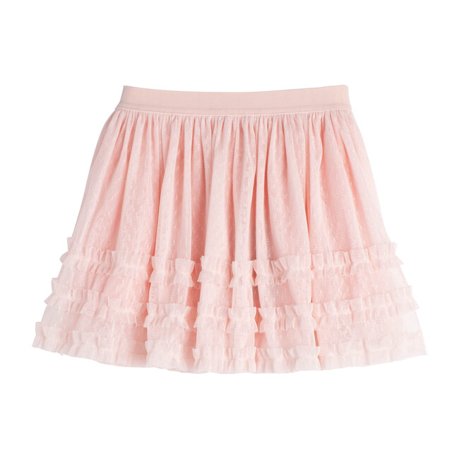 Elle Tulle Skirt, Dusty Pink