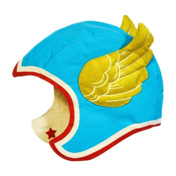 Flying Super Hero Hat, Blue