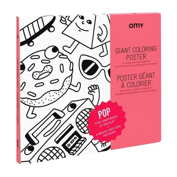Pop Coloring Poster