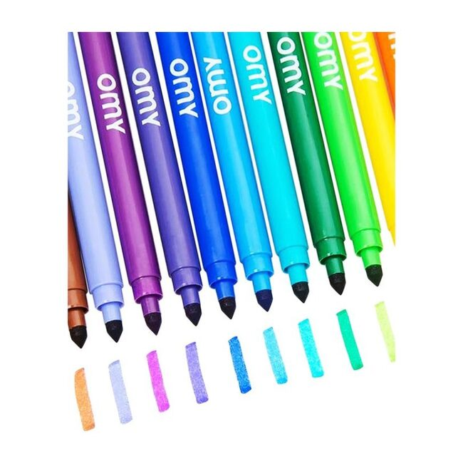 Assortment of 16 Ultra-Washable Markers, Multi