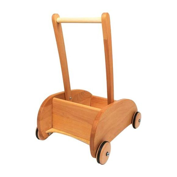 Wooden Push Wagon
