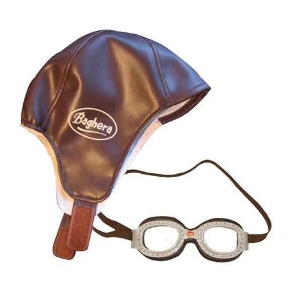 Racing Helmet + Goggles