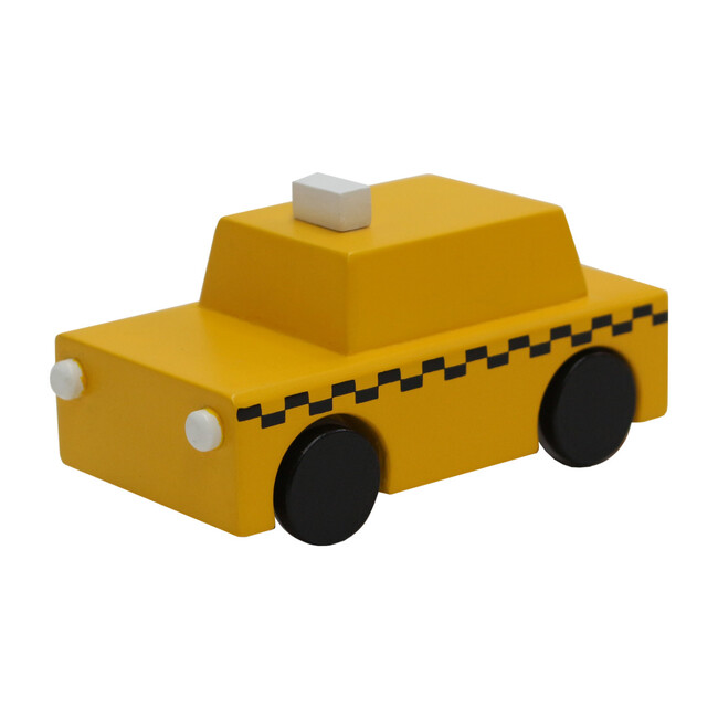 KIKO+ NYC Classic Taxi Pull-Back Car
