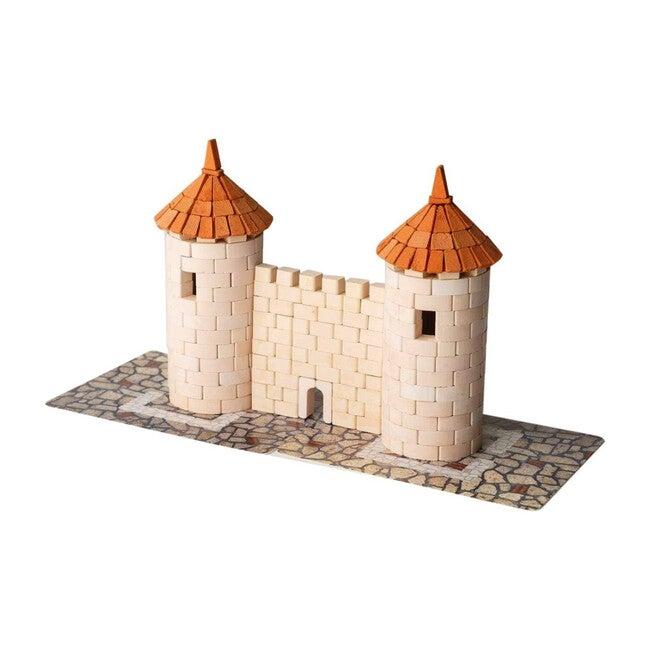 Two Tower Brick & Mortar Construction Set