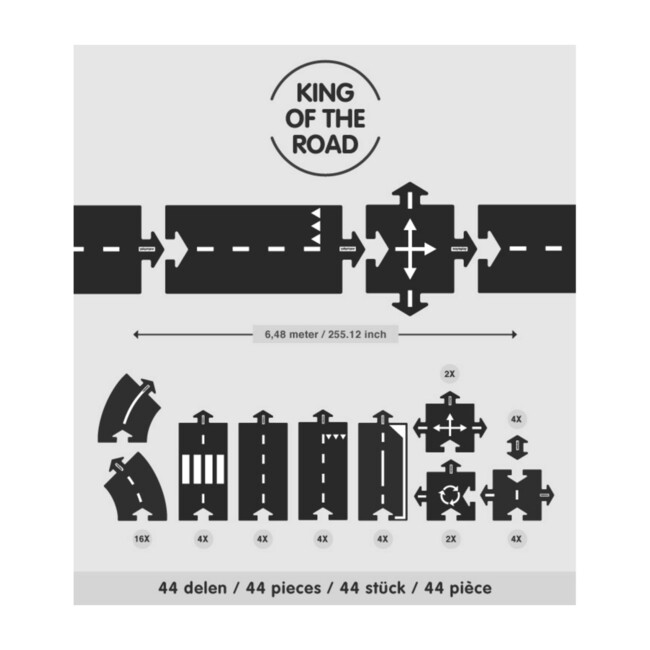 King Of The Road, 40 Pieces