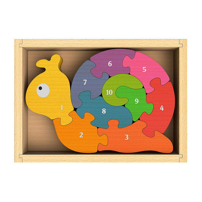 Number Snail Puzzle