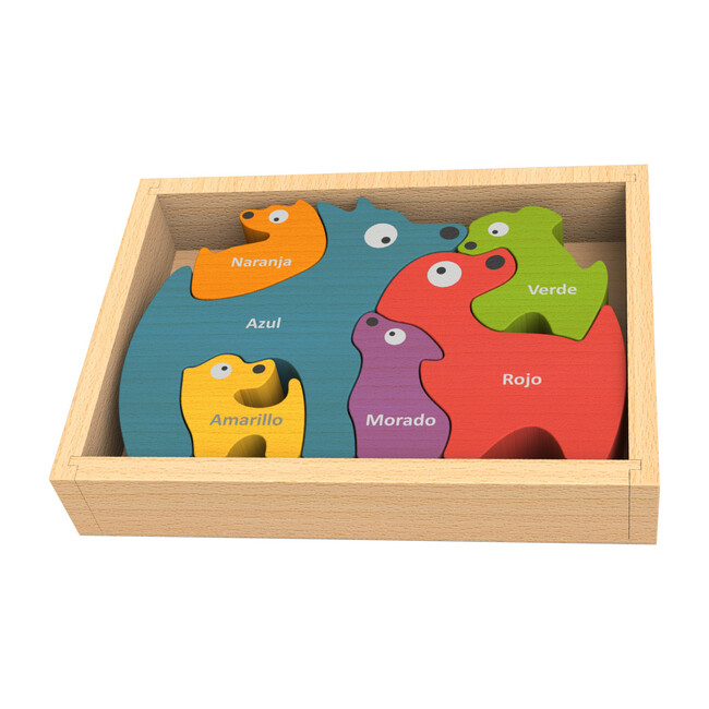 Bilingual Dog Family Puzzle