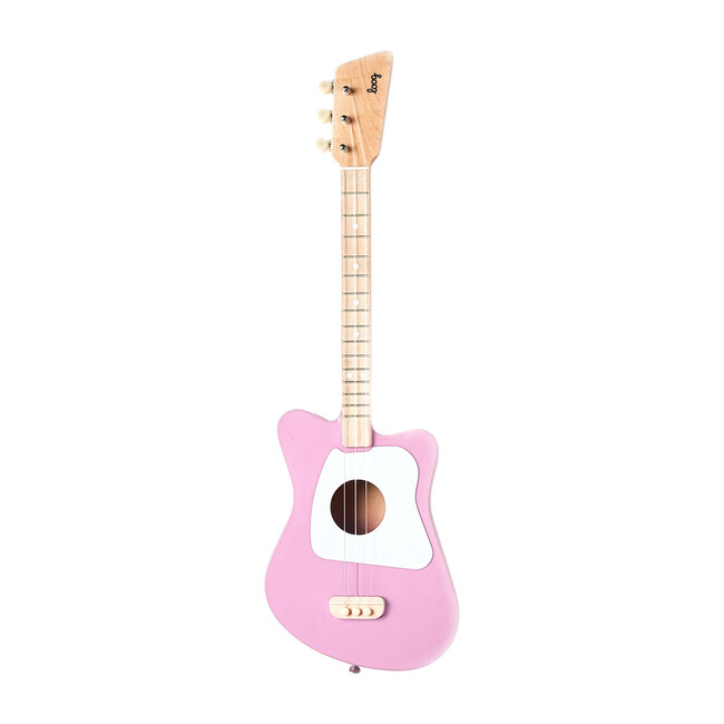 Mini 3-String Guitar, Pink