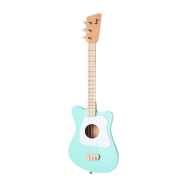Mini 3-String Guitar, Green - Musical - 1