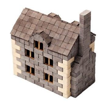 English House Brick & Mortar Construction Set