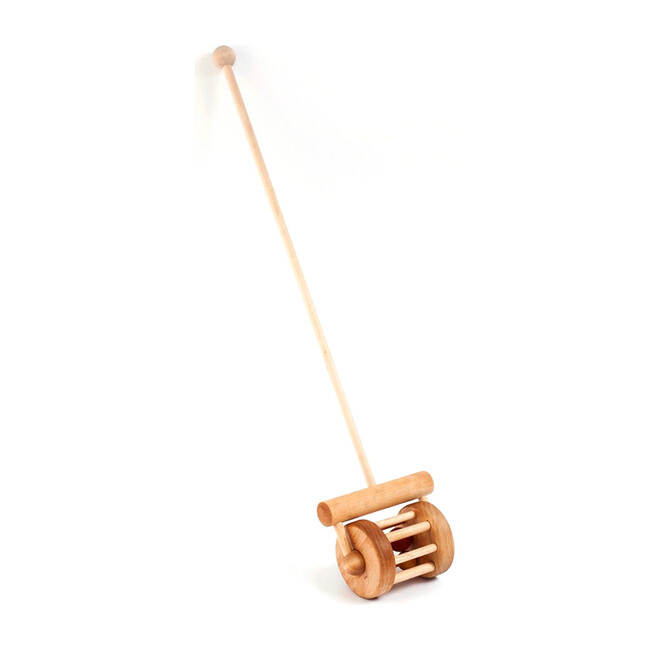 Wooden Rattle Push Toy