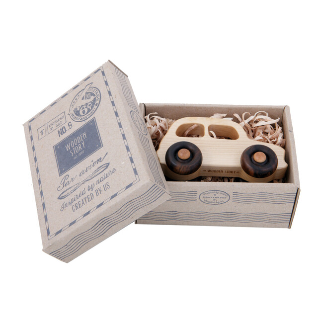 Natural Wooden French Car