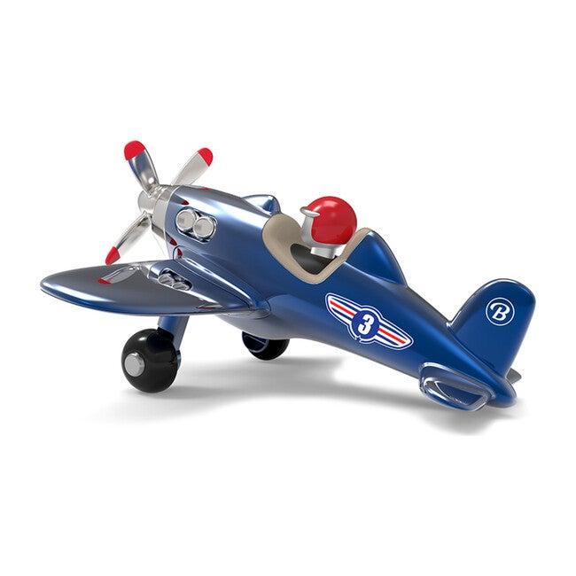 Propeller Jet Plane, Blue