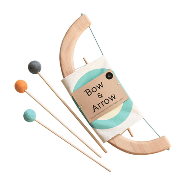 Bow and Arrow Play Set, Green