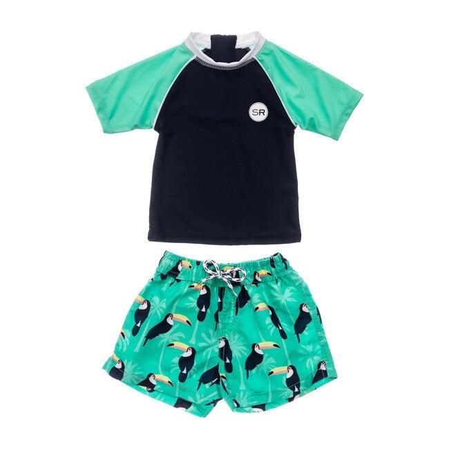 Toucan Talk Baby Short Sleeve Set