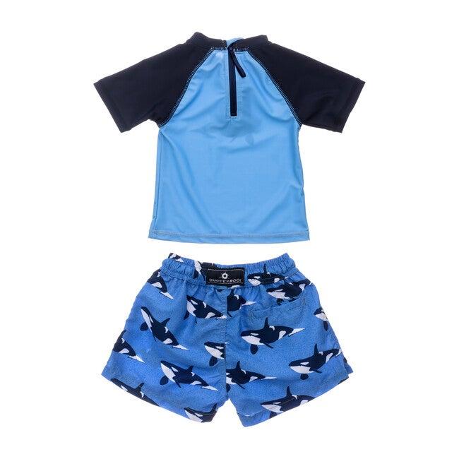 Orca Ocean Baby Short Sleeve Set