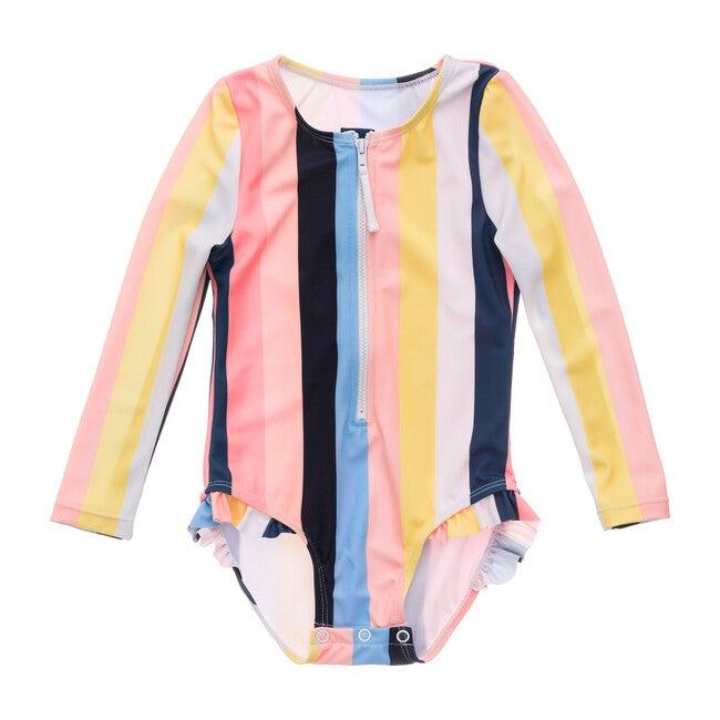 Opti Stripe Baby Long Sleeve Surf Suit