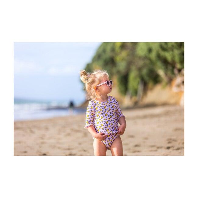 Leopard Love Baby Long Sleeve Surf Suit