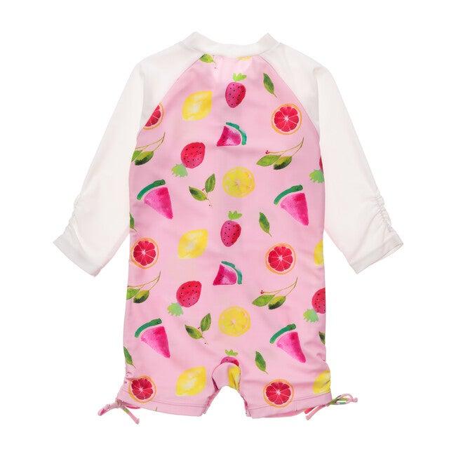 Fruit Fiesta Long Sleeve Swimsuit