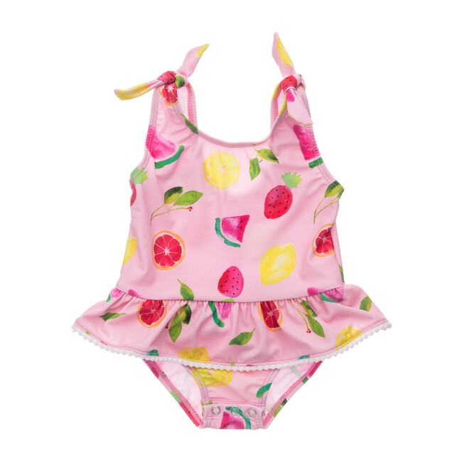 Fruit Fiesta Skirt Swimsuit