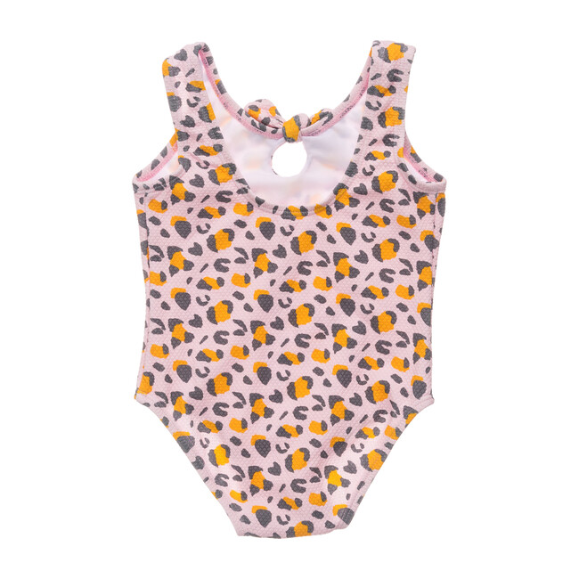 Leopard Love Bow Swimsuit