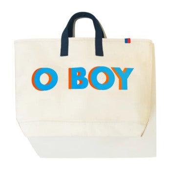 The O BOY Canvas Tote