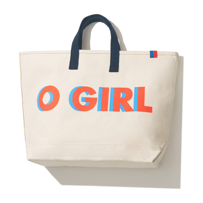 The O GIRL Canvas Tote