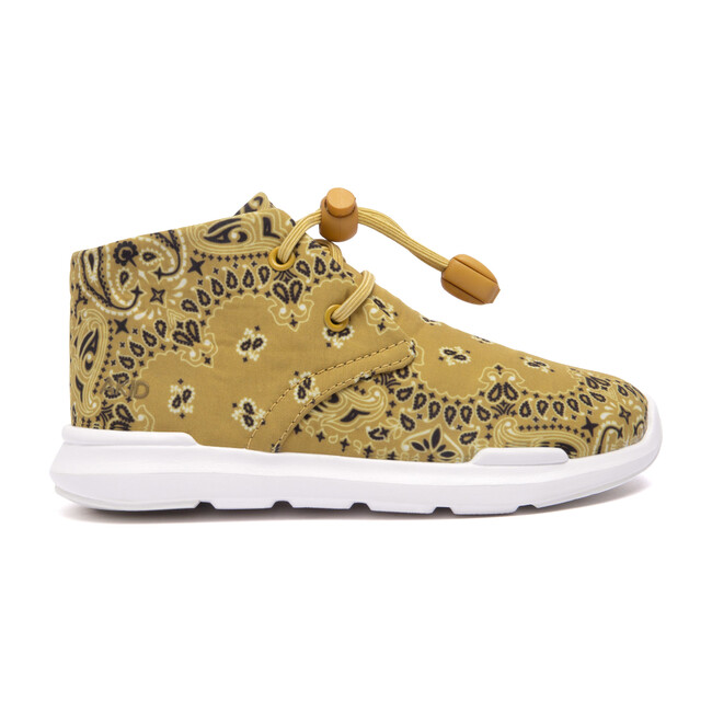 Remington Sneaker, Mustard Yellow Bandana Print