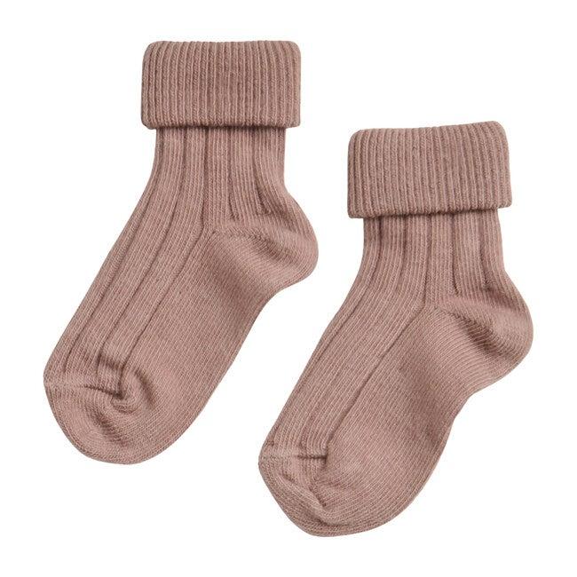 Turn Top Socks, Rose