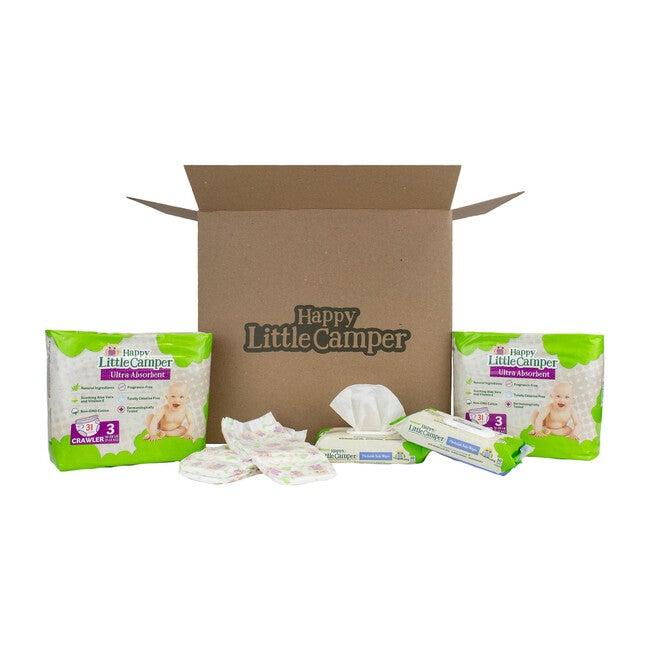 Diapers + Flushable Wet Wipes Bundle