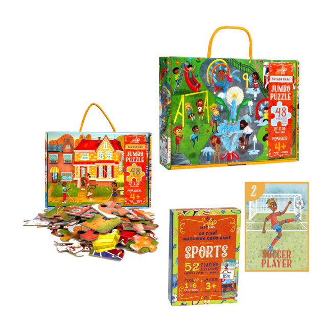 Learning Through Play Puzzle and Game Pack