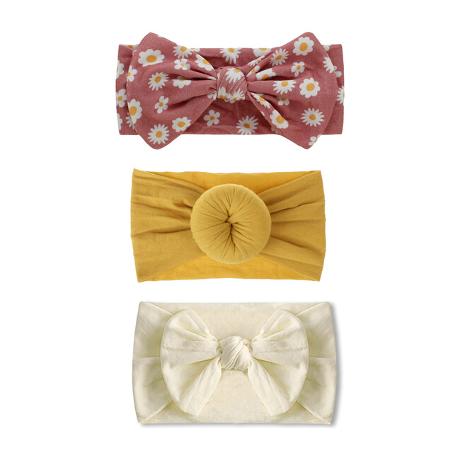 Valentine's Headband Set, Bamboo Headband Set