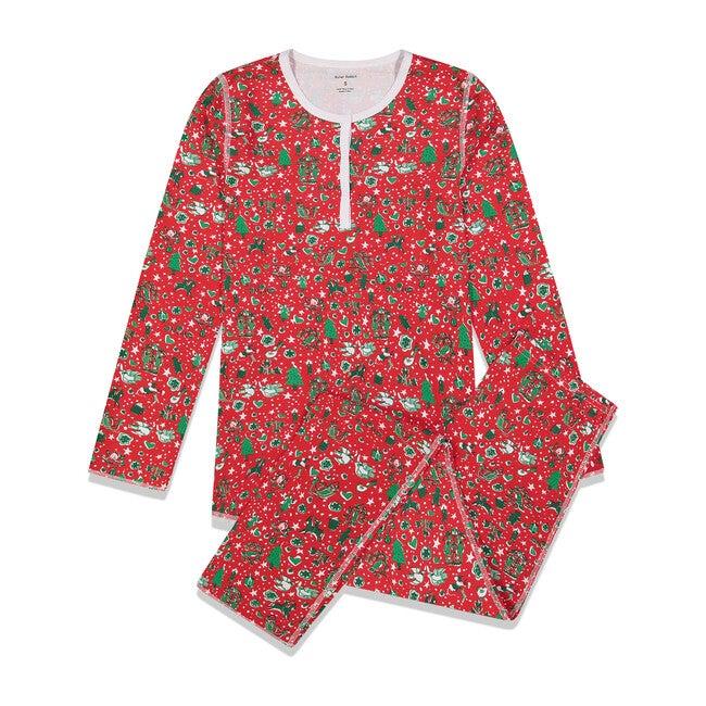 Red Womens Pajamas, Jingle Bell Rock
