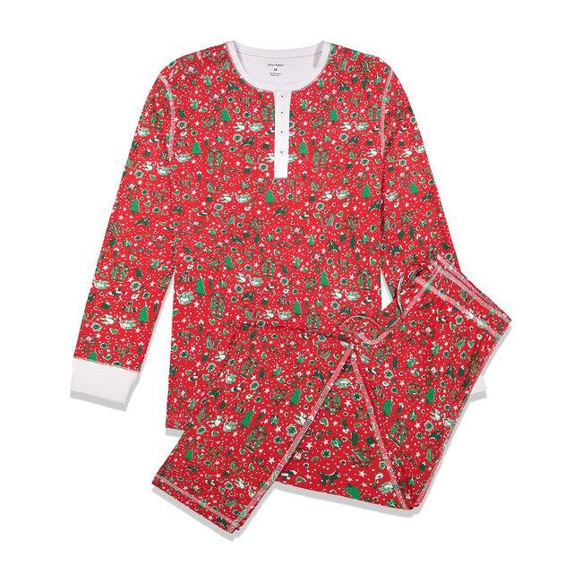 Red Men's Pajamas, Jingle Bell Rock