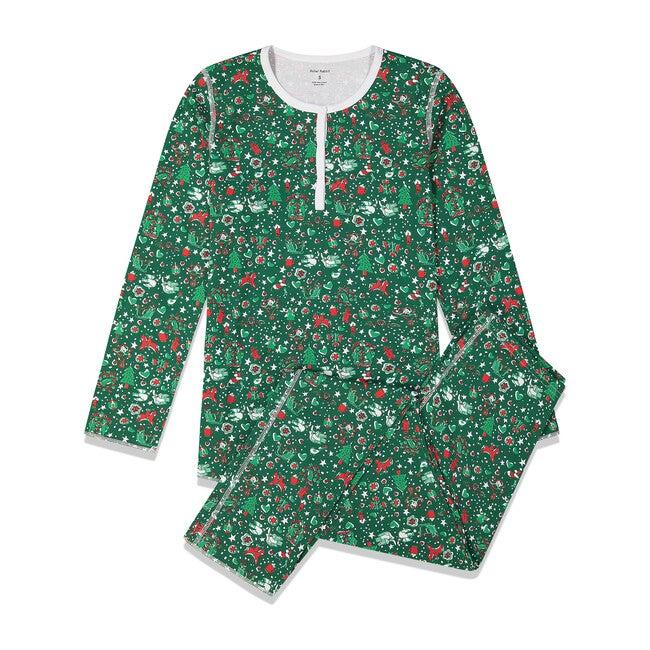 Green Womens Pajamas, Jingle Bell Rock