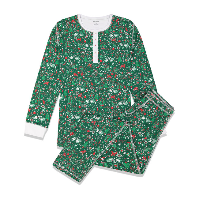 Green Men's Pajamas, Jingle Bell Rock