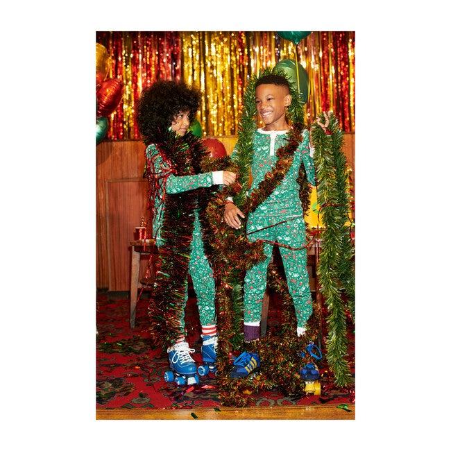 Green Kids Pajamas, Jingle Bell Rock