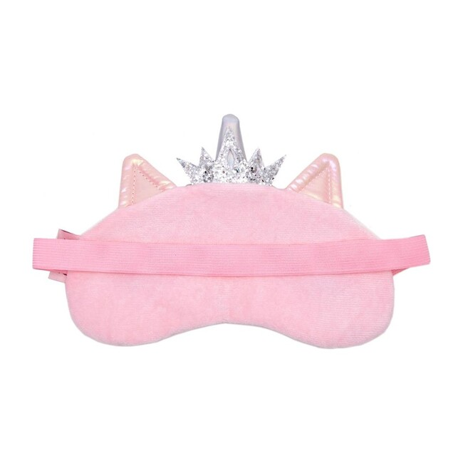 Miss Gwen Unicorn Puffer Pink Sleep Mask