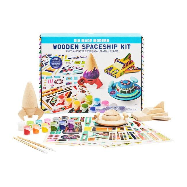 Wooden Spaceship Craft Kit